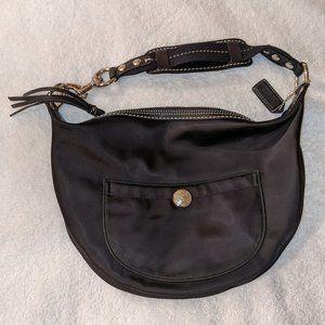 Coach L04j-1891 Black Hobo Bag